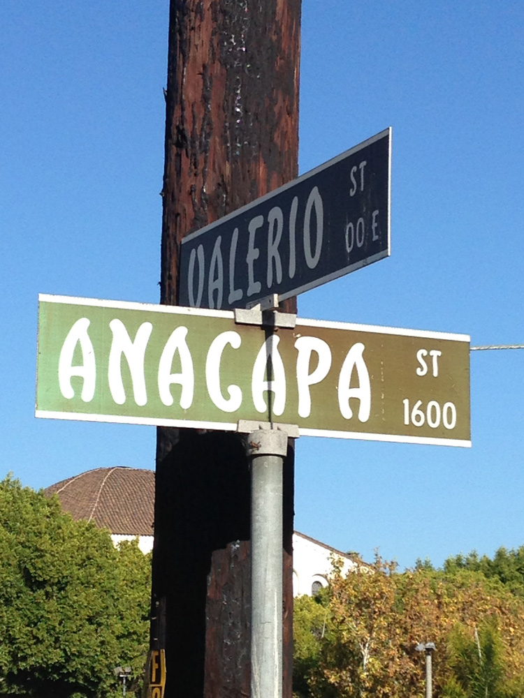 Anacapa & Valerio